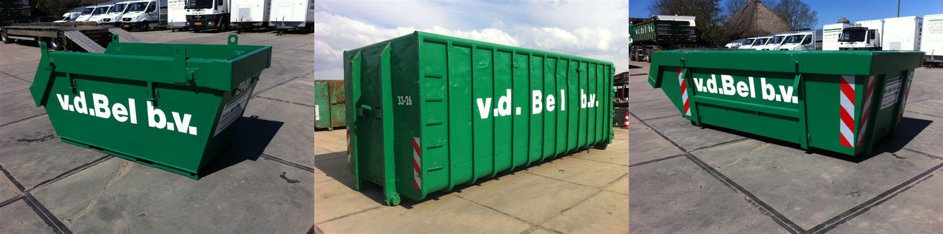Container service Van der Bel